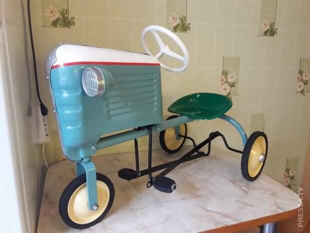 Реставрация детского трактора из СССР