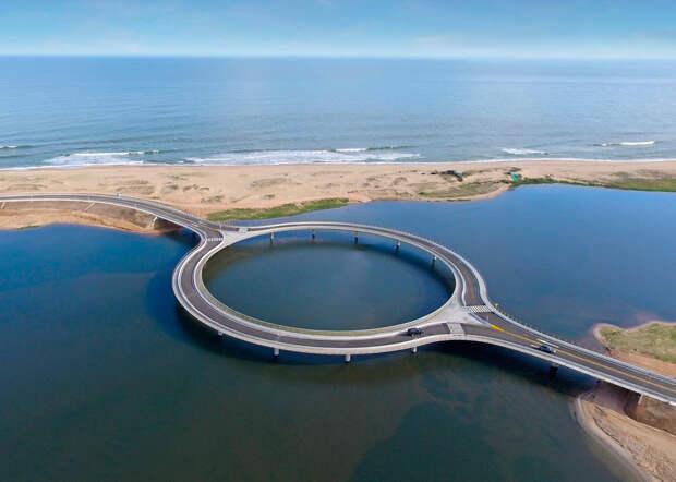 Мост Лагуна Гарсон Бридж, Уругвай