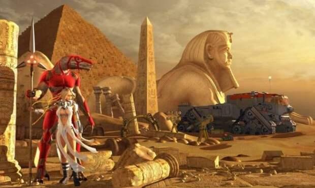 Цивилизацию Древнего Египта создали пришельцы из космоса?