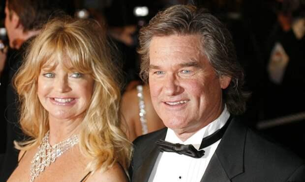 Курт Рассел и Голди Хоун брак, знаменитости, подборка, уважение