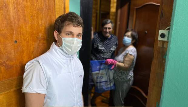 Волонтерский штаб «Единой России» помог более 14 тыс жителей Подмосковья в мае