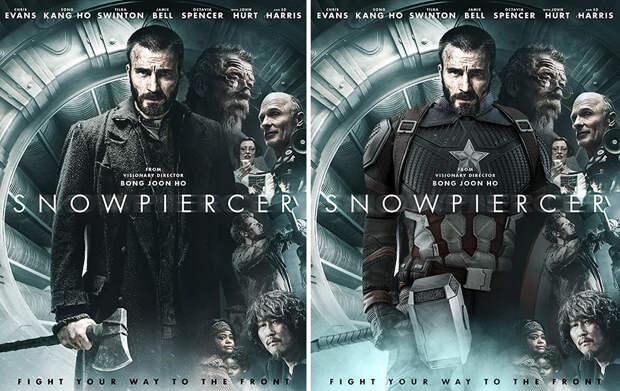 8 постеров, на которые прифотошопили актеров в их самых известных образах
