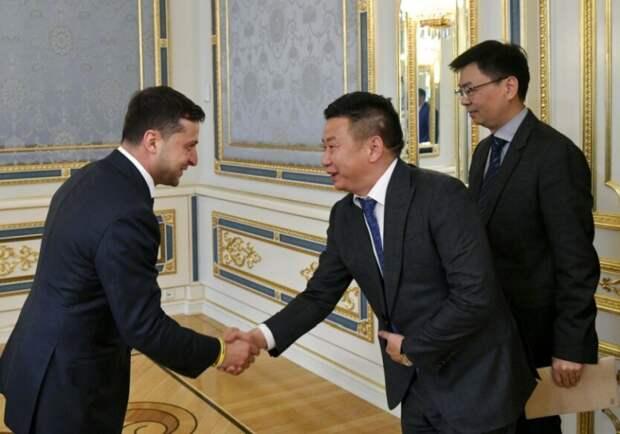 Как Украина по приказу Вашингтона ограбила Китай