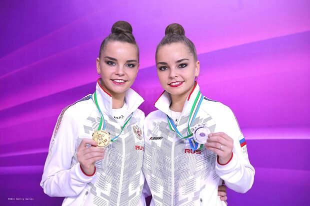 Нижегородские гимнастки Арина и Дина Аверины собрали коллекцию наград на этапе Кубка мира