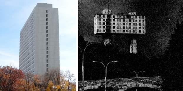 Необычное здание в США, которое принадлежит России