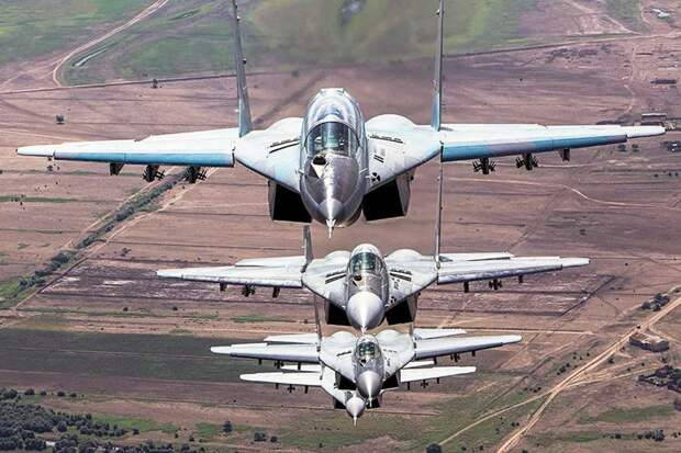 ВКС России в Сирии. Источник изображения: