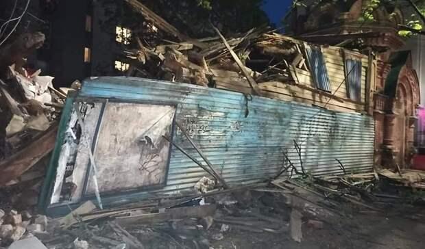 Законноли? Старинный дом снесли вНижнем Новгороде