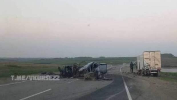 В полиции рассказали о смертельном ДТП на алтайской трассе