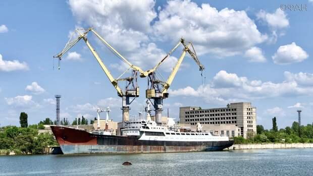 Как на Украине уничтожали судостроение. Разворованный завод в Николаеве