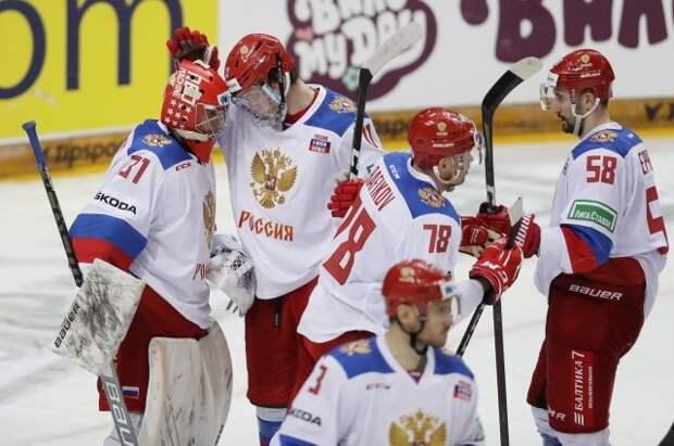 Сборная России по хоккею победила команду Швеции в матче Евротура