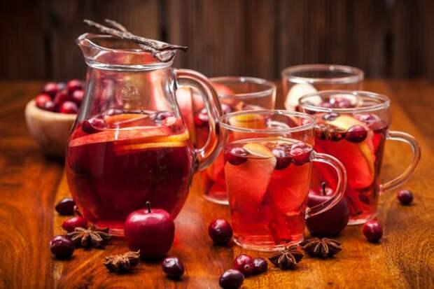Безалкогольные напитки. Горячий морс – если чай и кофе надоели