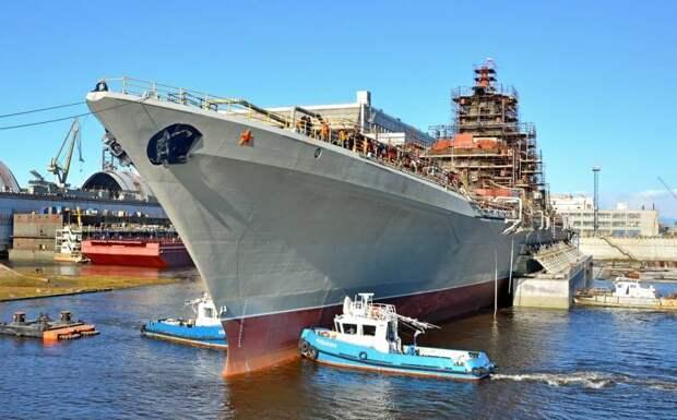 240 ударных ракет и 240 ЗУР: почему обновленный «Нахимов» будет самым мощным кораблем в мире