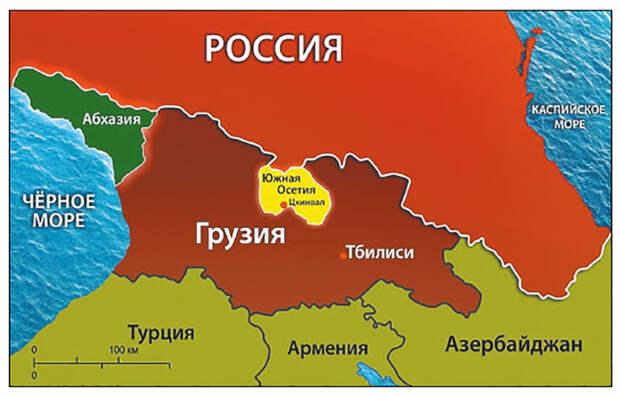 Грузия рискует исчезнуть с политической карты мира