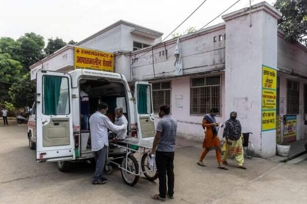 В Индии зафиксировали наименьший прирост случаев COVID-19 за месяц