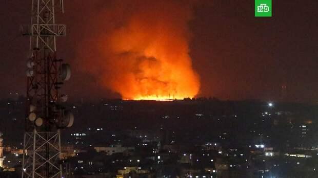 В результате ударов Израиля по сектору Газа погибли 20 палестинцев