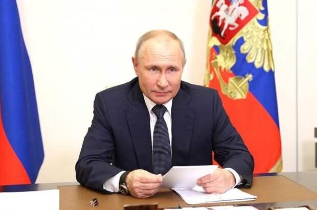 Путинпоздравил российских полярников с праздником