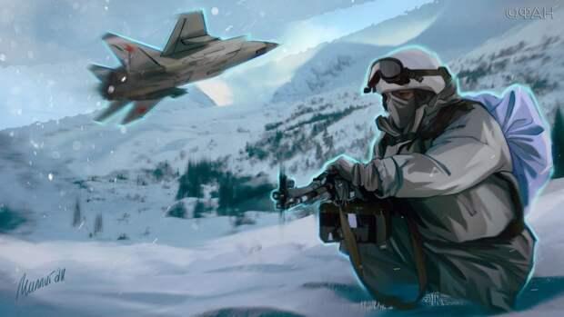 Баранец назвал арктическое направление идеальным для атаки ВС РФ по США