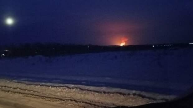 ВПерми загорелся пороховой завод
