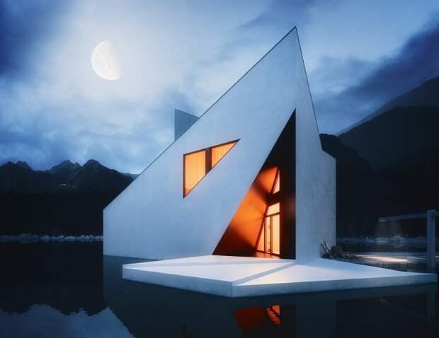 The Crown House - дом с геометрическими формами.