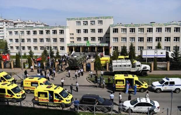 Устроивший стрельбу в школе Казани не состоял на учете полиции и соцслужб