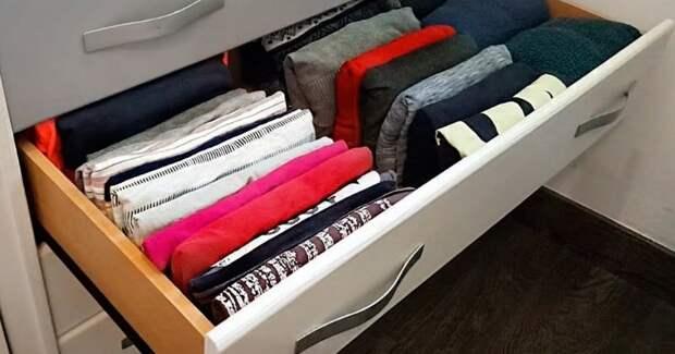 Отличный способ складывать одежду лучше, чем Мари Кондо