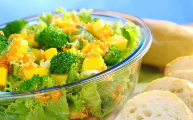 Салат из брокколи для похудения