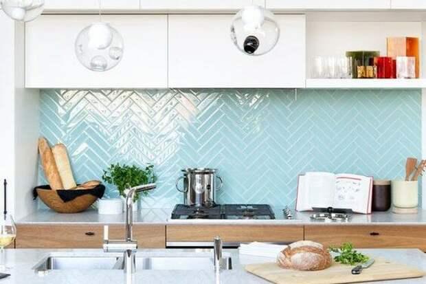 Фартук на кухню из плитки своими руками: пять лайфхаков