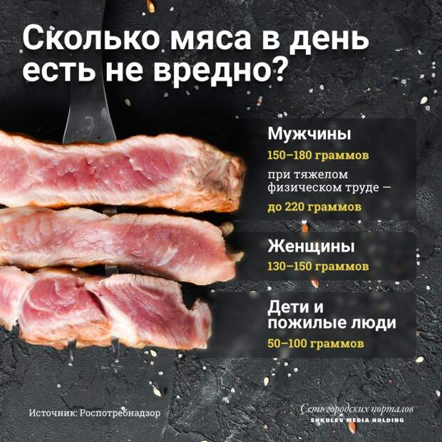 И не стоит повторно замораживать мясо. Замораживание снижает содержание белка в мясе наполовину, а повторная заморозка может его и вовсе уничтожить. Тогда вы получите совершенно бесполезное для организма жесткое волокно