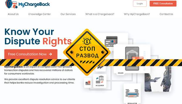 Обзор и отзывы о компании MyChargeBack