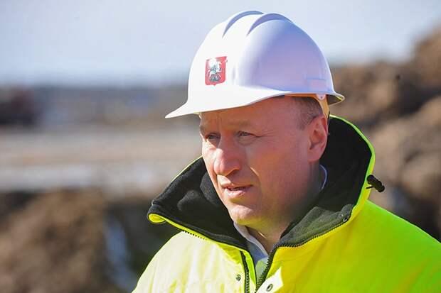 Андрей Бочкарев: Завершается первый этап строительства развязки на Кутузовском проспекте