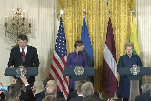 Президенты Прибалтики