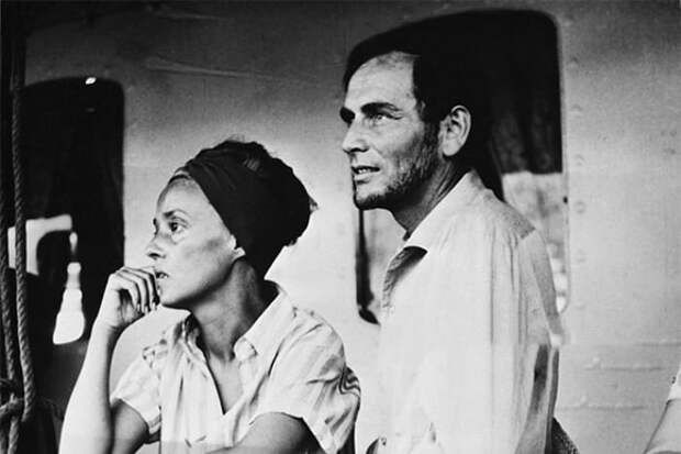 Жанна Моро и Пьер Карден | Фото: 24smi.org