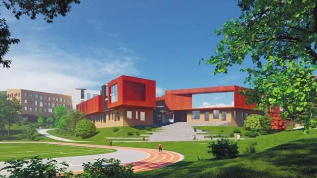В новой школе Владивостока будет кинотеатр и открытая для прогулок крыша