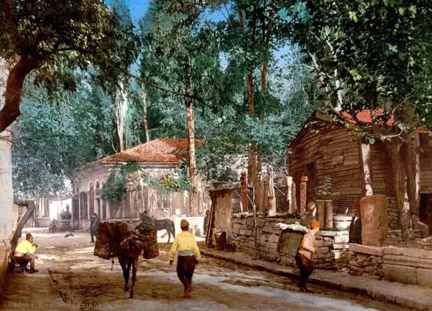 Цветные открытки Константинополя 10