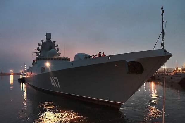 Фрегат «Адмирал Горшков» проведет завершающие испытания ракет «Циркон»
