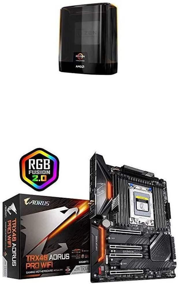 GIGABYTE TRX40 AORUS PRO WiFi and AMD Ryzen Threadripper 3960X Combo
