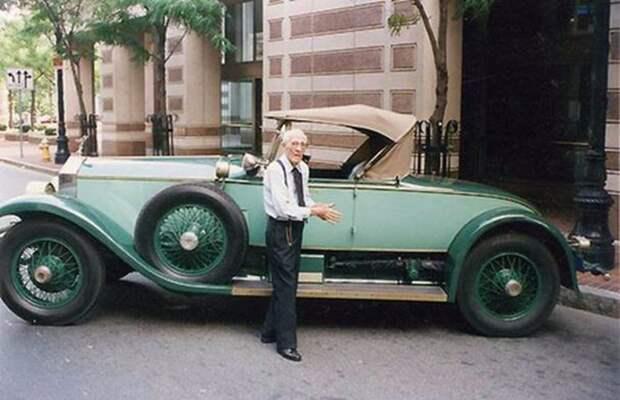 Аллен Свифт— человек, который 78 лет ездил наодном итомже Rolls-Royce