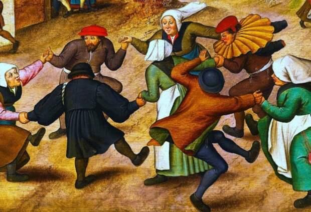 В один июльский день фрау Троффеа внезапно ударилась в пляс и не могла остановиться шесть дней / Фото: 2.bp.blogspot.com