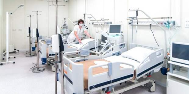 В больнице Спасокукоцкого разместят дополнительные койки для больных ковидом
