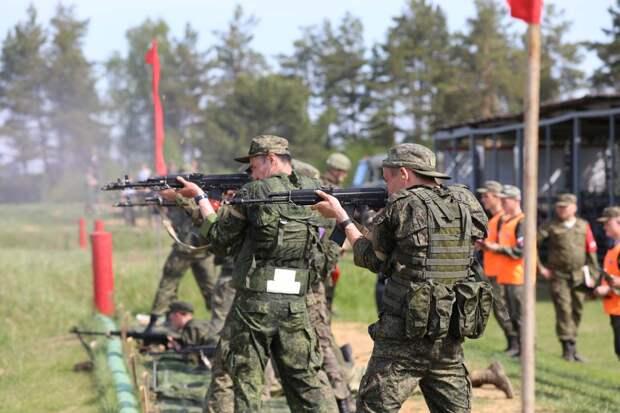 На полигоне Песочное в Ярославской области завершился первый этап конкурса ВДВ «Десантный взвод-2021»