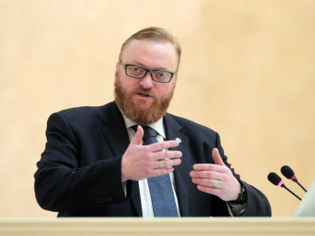 РБК: Коллекторы пожаловались Бастрыкину на высказывания Милонова о «нелюдях» и «паразитах»
