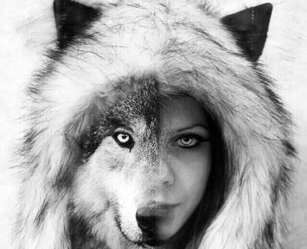 Девушка-волк
