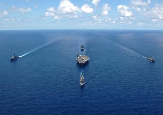 Вашингтон бросает вызов Москве в Чёрном море