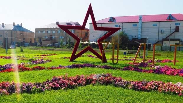 Жители Сорочинска развели костер изшкольных тетрадей впарке 70-летия Великой Победы