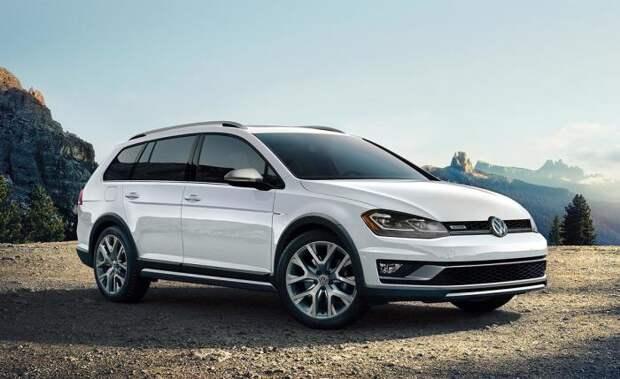 Volkswagen Golf Alltrack - это стильная альтернатива компактным кроссоверам.   Фото: nydailynews.com.