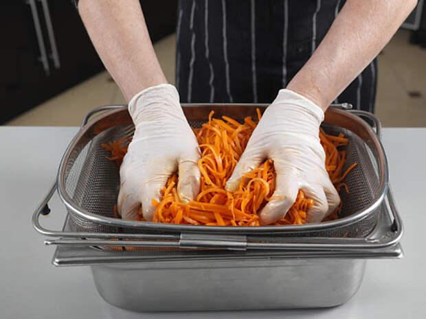 Морковка-морковочка-морков-ча по-корейски