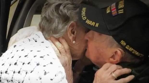 В США встретились влюбленные, 75 лет назад разлученные войной