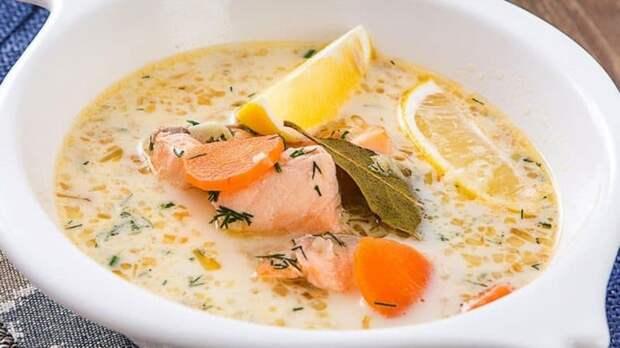 Суп из форели по-фински. Наваристое первое блюдо для любителей рыбки 2
