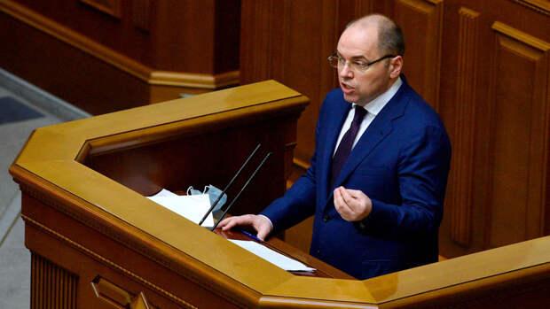 Главу Минздрава Украины увольняют за срыв кампании по вакцинации