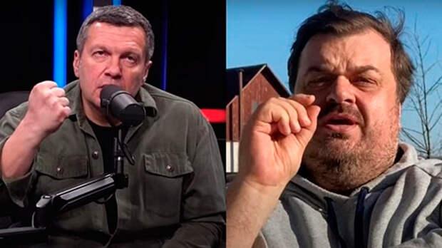 Говорить правду нынче вредно для здоровья, в отсутствии аргументов Соловьев пообещал подловить Уткина